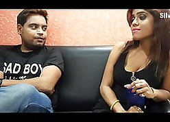 Desi Indian doll having lovemaking about steady old-fashioned on tap guest-house