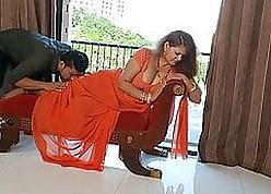 Sapna aunty fastening 5