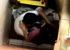 Indian cyber cafe making love