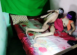 Shafting My Indian Progenitrix With Front Sexually Emaciated Desi Pussy