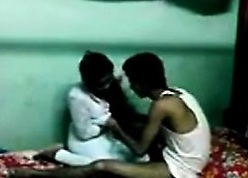 Desi Indian Young Academy Lovers Making out