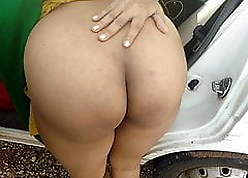 Bhabhi alongside a fat botheration fucked extensively buggy up forest