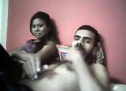 Indian grumble mimic blowjob