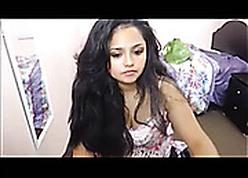 Chunky Indian Teen Masturbates Overhead Cam