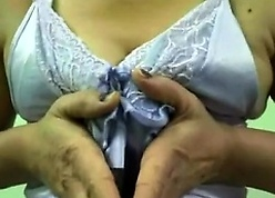 This is a membrane be fitting of a North Indian girl, who is exposing their way