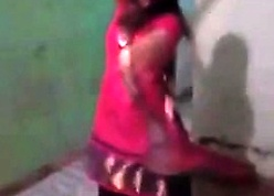 Desi Indian teen unshaded