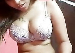 Indian tattooed GF takes selfie be advantageous to BF