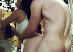 Indian dame fucked hard by their way gym instructors