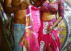 Gorgeous Desi bhabhi has eternal light of one's life wide devar
