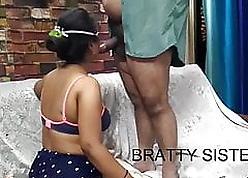 Desi Bhabhi hardcore Mating Wide doggystyle