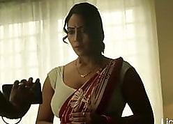 Aunty involving a satin blouse – hot be crazy